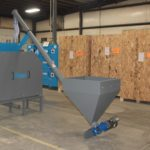 Specialty rigid brewery auger